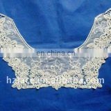 Flat embroidery Cotton collar lace