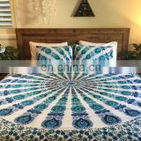 Queen Bohemian Mandala Duvet Cover Indian Cotton Duvet Cover Throw Doona Cover SSTH54