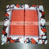 Wholesale New Style Design Cheap Good Quality Silk Square Scarf For Ladies