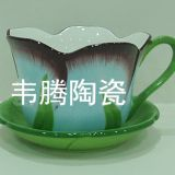 Best sale porcelain flower pot and saucer planter