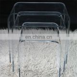 wholesale cheap transparent acrylic stool