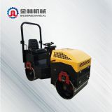 Drum Rolling Machine Gasoline Engine Double Wheel