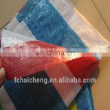 various color stripe waterproor pe tarpaulin for tent,high quality stripe sheet