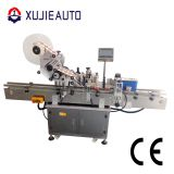 automatic can top side sticker labeling machine for cups
