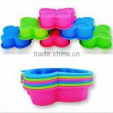 2013 cute butterfly shaped kitchen Silicone cake mould,silicone cake decorations