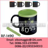 Can Shape Promotional Chalk Cup with Assorted Color for Tea Cups Ceramic