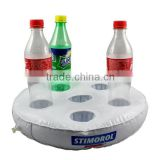 Inflatable cup holder / plastic cup holders / cup holder tray