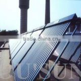 manifold heat pipe vacuum tube solar water heater project