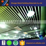 aluminum suspension ceiling system with white squre tube