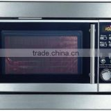 23L Built in microwave oven with timer, auto cook and defrost