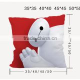 sublimation blank pillow factory whole sale bolster for customer desgin heat transfer printing pillow