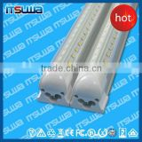 Hot sell 8ft led tube light,led strip tube light,2400mm 44W integrated 8 feet led tube light fixture
