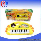 electronic music piano toys with 3 d lighting