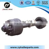 light duty trailer axle by zhengyang factory