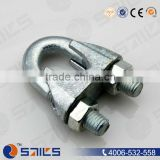 china manufcturer us type wire rope saddle clip