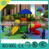 Plastic Playground Slide Equipment ,New Design Kids Outdoor Playground For Sale