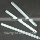 Bubble tea diposal drinking straws crystal straw individual wrapped straw