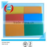 Recycled Plastic Quality Products/ red HDPE sheet/ UHMW-PE Pad Fender Frontal Panel