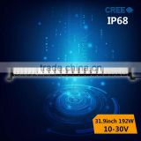 newest!!31.9 inch ip68 192w led light bar 3w 10w cree chips mixed in one bar,car driving light