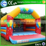 Hot sale inflatable bouncing house commercial bounce house wholesale balloon bounce for party