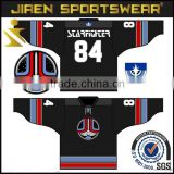 custom made ice hockey jerseys cheap team set hockey jersey Professional Custom embroidery tackle twill ice hockey jersey                                                                         Quality Choice