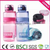 customer named drinking bottle plastic water bottle cap push pull