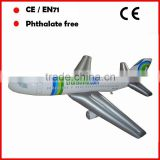 large inflatable airplanes models for air company