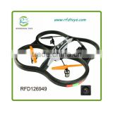 2.4G 6 Axis 3D Remote Control UFO Helicopter Quad copter RTF Mode 1 rc quadcopter toy