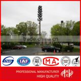 Galvanized Cell Phone Mobile Signal Pole Self- support Monopole Tower                                                                         Quality Choice