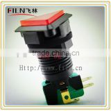 Plastic 24MM Triangle Arcade Game push button micro switch