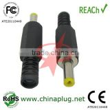 Low Voltage Straight DC Power plug 1.7 & jacks male with OD4.0MM 11mm Shaft in Length