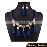 >>>>2016 Lady's multi color New model design tassel jewelry set/                                                                         Quality Choice