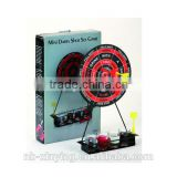 Hot selling Magnetic Tabletop Drinking Dart Game Wholesale Price Mini Darts Shot Set Table Games