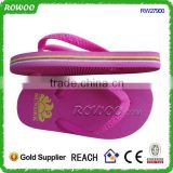 girl rubber flip flops china, child rubber sole slippers, rubber beach eva slipper manufacturer