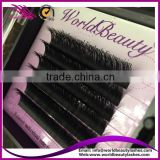 Private label package 3D lash extension double layer eyelash extension