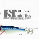 Chinese Manufacturers good quality squid jigs Fishing Lure
