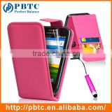 Set Screen Protector Stylus And Case For Samsung Galaxy Ace S5830 , Roseo Leather Wallet Case Cover