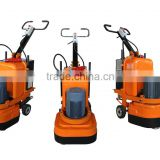 surface preparation 4head floor grinder machine and polishing machine with dust extractors
