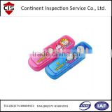 Pencil case / Stationery case / Writing case pre-shipment inspection / During production service in China / pencil-box