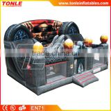 commercial inflatable Spooky Combo, inflatable amusement park, giant inflatable jump house, inflatable slide for kids
