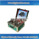 Highland high quality Chinese Portable Hydraulic Tester hydraulic oil flow meter