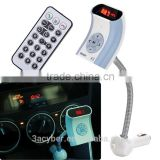 Universal Handsfree Bluetooth FM Transmitter Instructions Car MP3 Player Modulator&3.5mm AUX Cable