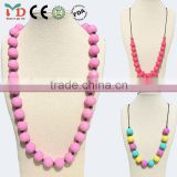 China Manufacturer BPA Free Silicone Necklace/Fashion Necklaces 2014