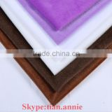 100% polyester colored velboa velvet fabric upholstery fabric colored fabric High quallity