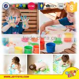 with 4 color pigment DIY finger paint toy foreign kids games
