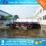 10000L economic china crude oil suction truck for sale