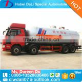 China factory sale 8*4 FAW 35.5 m3 4 axles 15 Tons LPG TRUCK