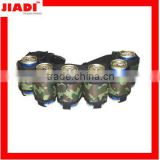 6 Pack Beer & Soda Can Holster Belt - Camo/good for a gag gift