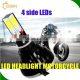 fast shipping h1,h3,h4 ,h6,h7 ,h8,h9,h10,h11, h13 ,9004 ,9005, 9006 ,9007 motorcycle led projector headlights