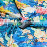 Fashional floral digital print fabric100% cotton textile colorful printed for women beautiful bra clothes 2017 new design fabric